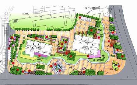 重慶渝能陽光100城市廣場景觀設計