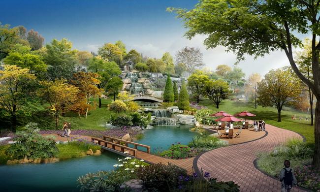湖南长沙东宸林海园林景观设计-园林景观篇-案例经典